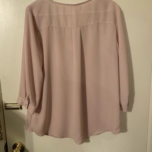 Maurices Tops - Women's Pink Blouse Maurices Brand